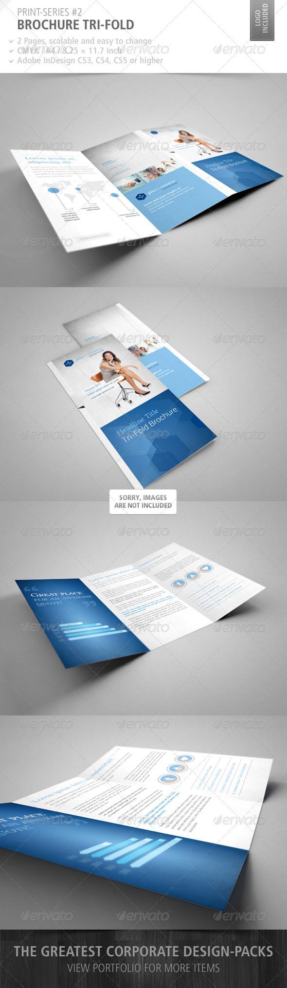 GraphicRiver Brochure Tri-Fold Print-Series #2 2555632