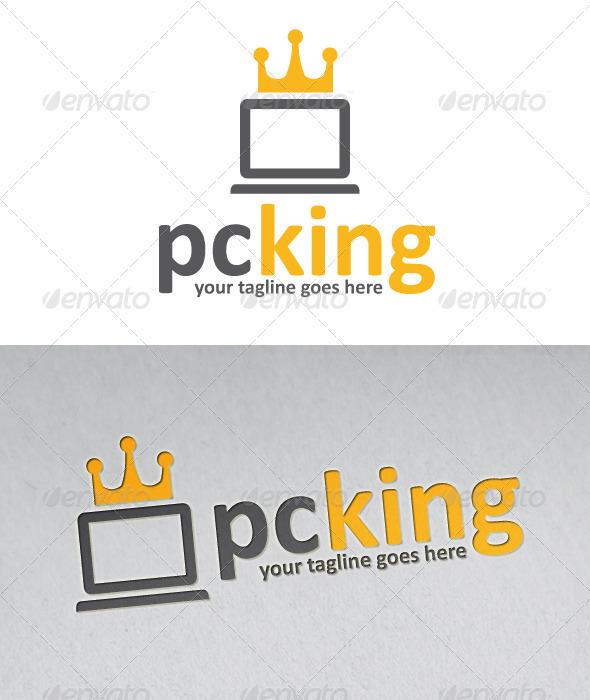 Pc King Logo - Objects Logo Templates