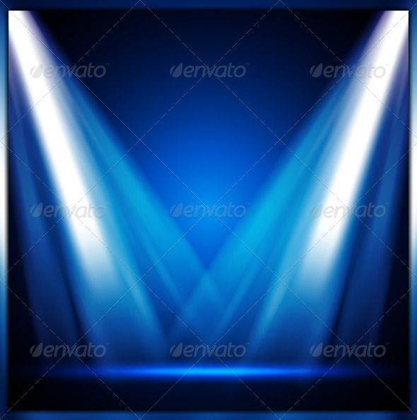 GraphicRiver Stage Light 2556961