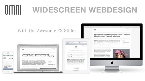 ThemeForest OMNI Widescreen Responsive Multipurpose 2557108