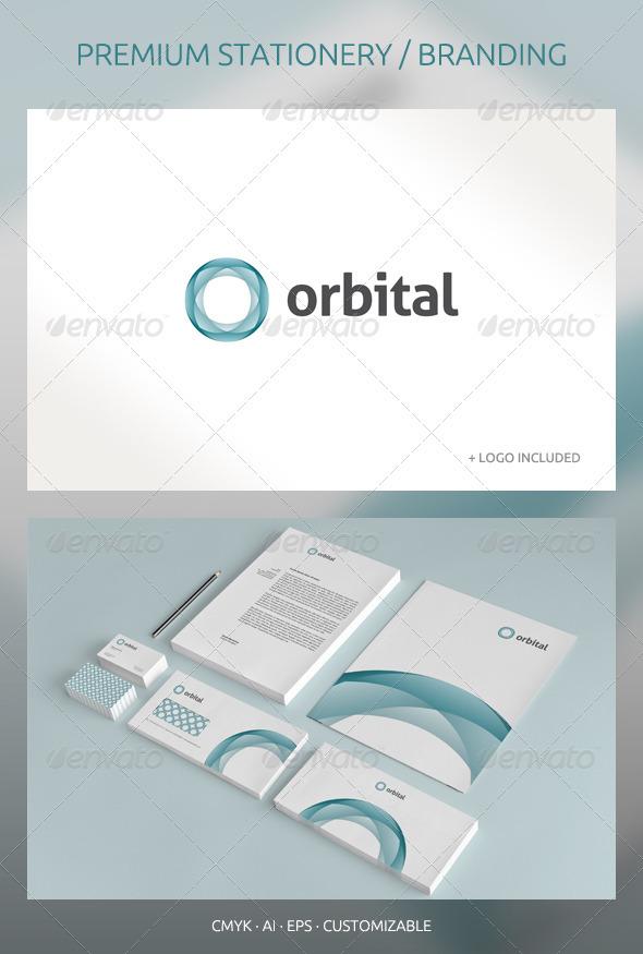 Orbital Abstract Corporate Identity