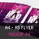 A4 - A5 Flyer Mockup 04