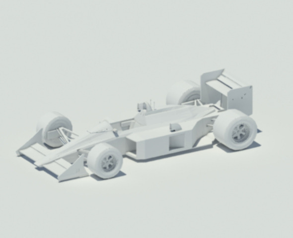 McLaren MP4-4 - 3DOcean Item for Sale