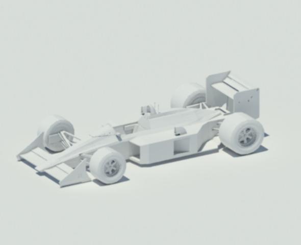 3DOcean McLaren MP4-4 2539395