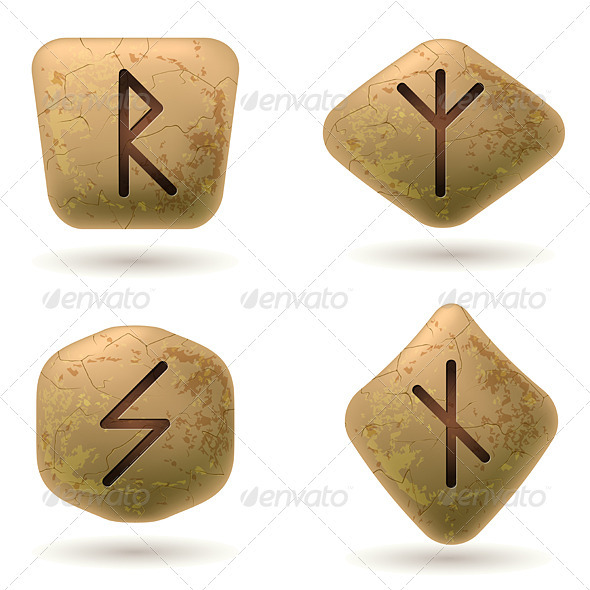 Runes - Objects Vectors