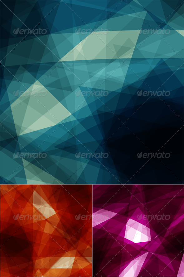 GraphicRiver Abstract geometric designs 2558375
