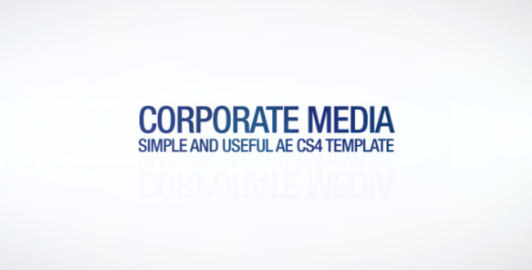 After Effects Project - VideoHive Corporate Media 2558695