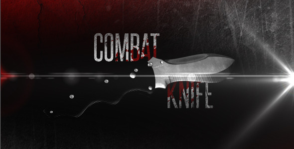 After Effects Project - VideoHive Combat Knife 2558915
