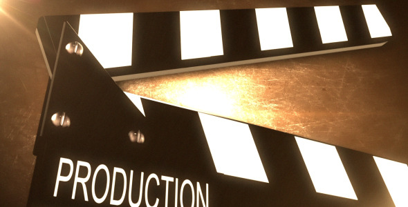 Cinematic Clapper Background Looped