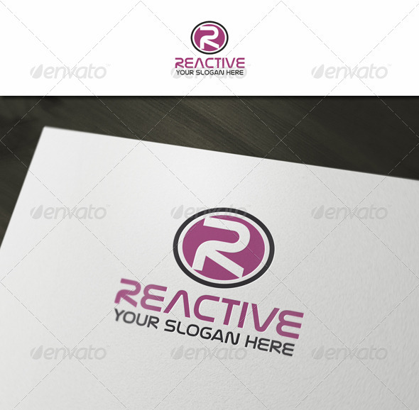 R - Abstract Letter Logo - Letters Logo Templates