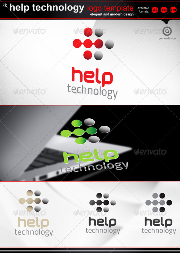 GraphicRiver Help technology 2315000