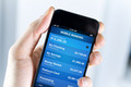 Mobile Banking On Smartphone