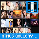 HTML5 Photo Gallery - Resizable Album Grid XML.