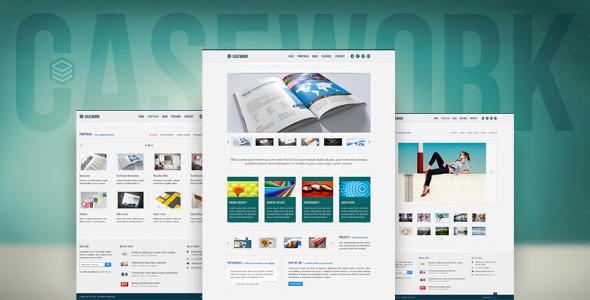 ThemeForest Casework Design Studio Portfolio & Blog Template 2561201