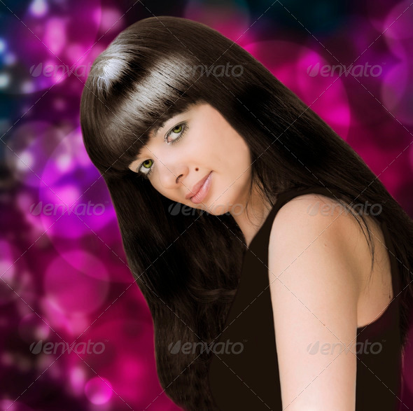 Young beautiful girl portrait - Stock Photo - Images
