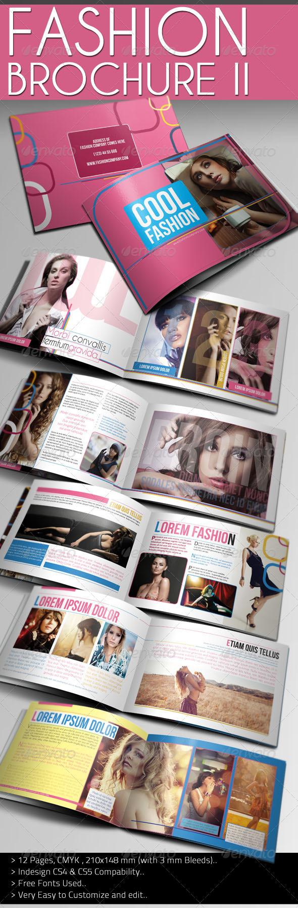 Cool fashion brochure graphicriver for Fashion brochure templates