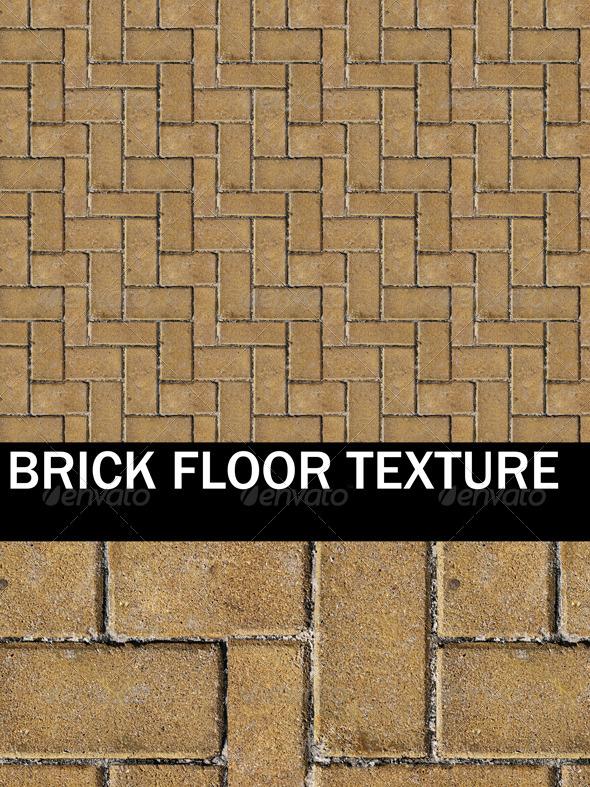 3DOcean Brick Floor and Ground Texture 2561286