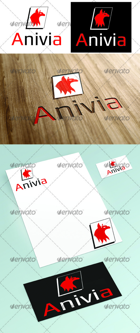 Anivia Logo - Animals Logo Templates