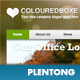 Colouredboxe – Compact Business Template