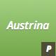Austrina - Minimalist Grid Based Resume - GraphicRiver Item for Sale
