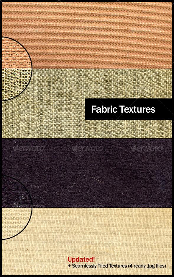 GraphicRiver 4 Small Grain Fabric Textures 87758