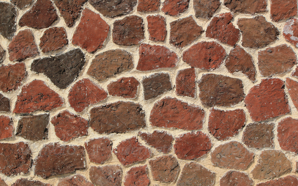 Stone wall texture - Stock Photo - Images