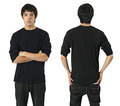 Male with blank black shirt - PhotoDune Item for Sale