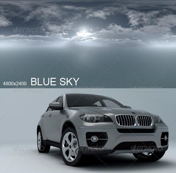 3DOcean Hdri Blue Sky 2563139