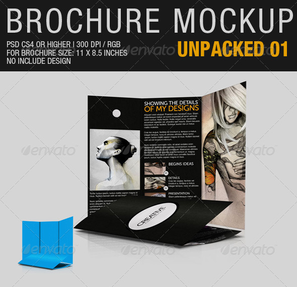 Brochure Mockup Unpacked 01