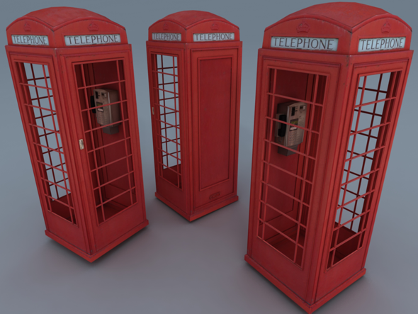 3DOcean Phone Booth 2564206