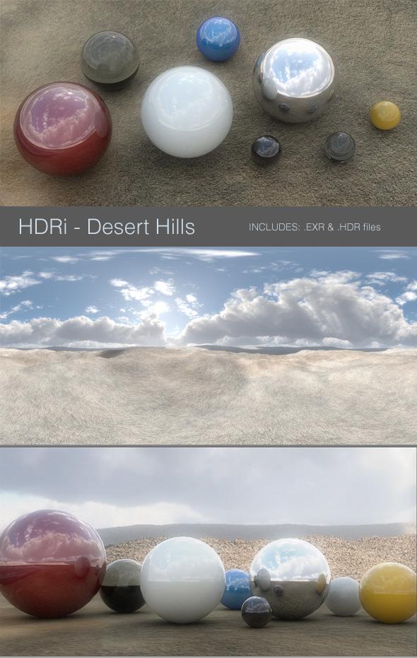 HDRi Desert Hills