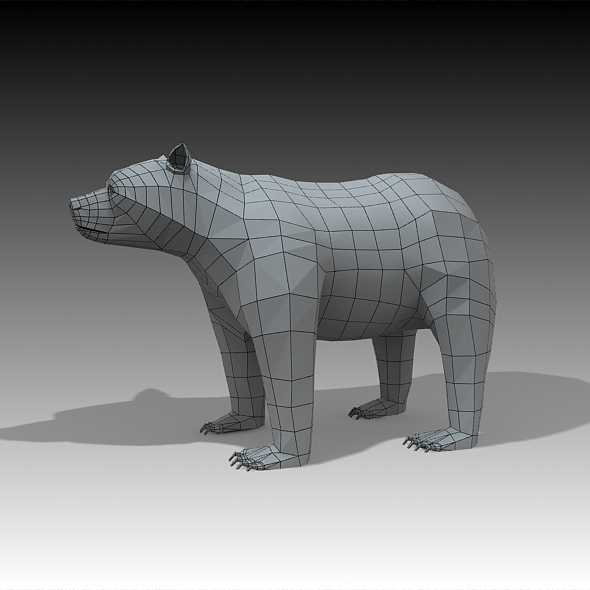 Bear  - 3DOcean Item for Sale