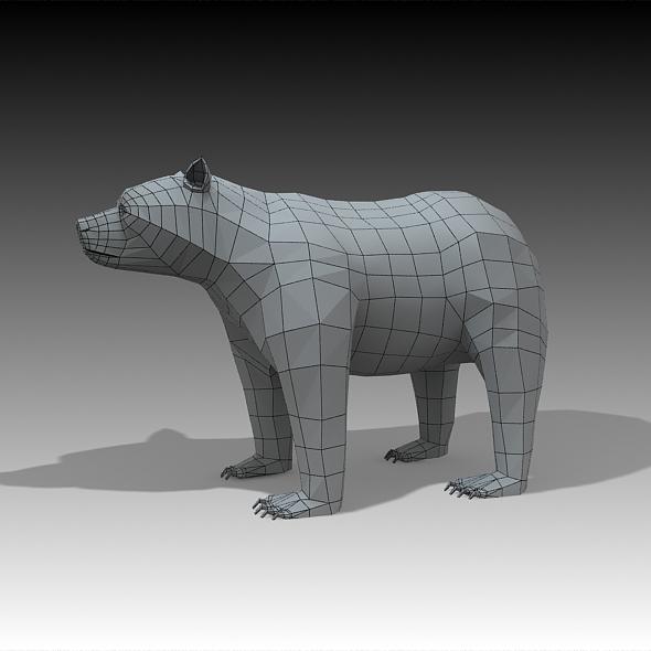 3d Models Bear 3docean