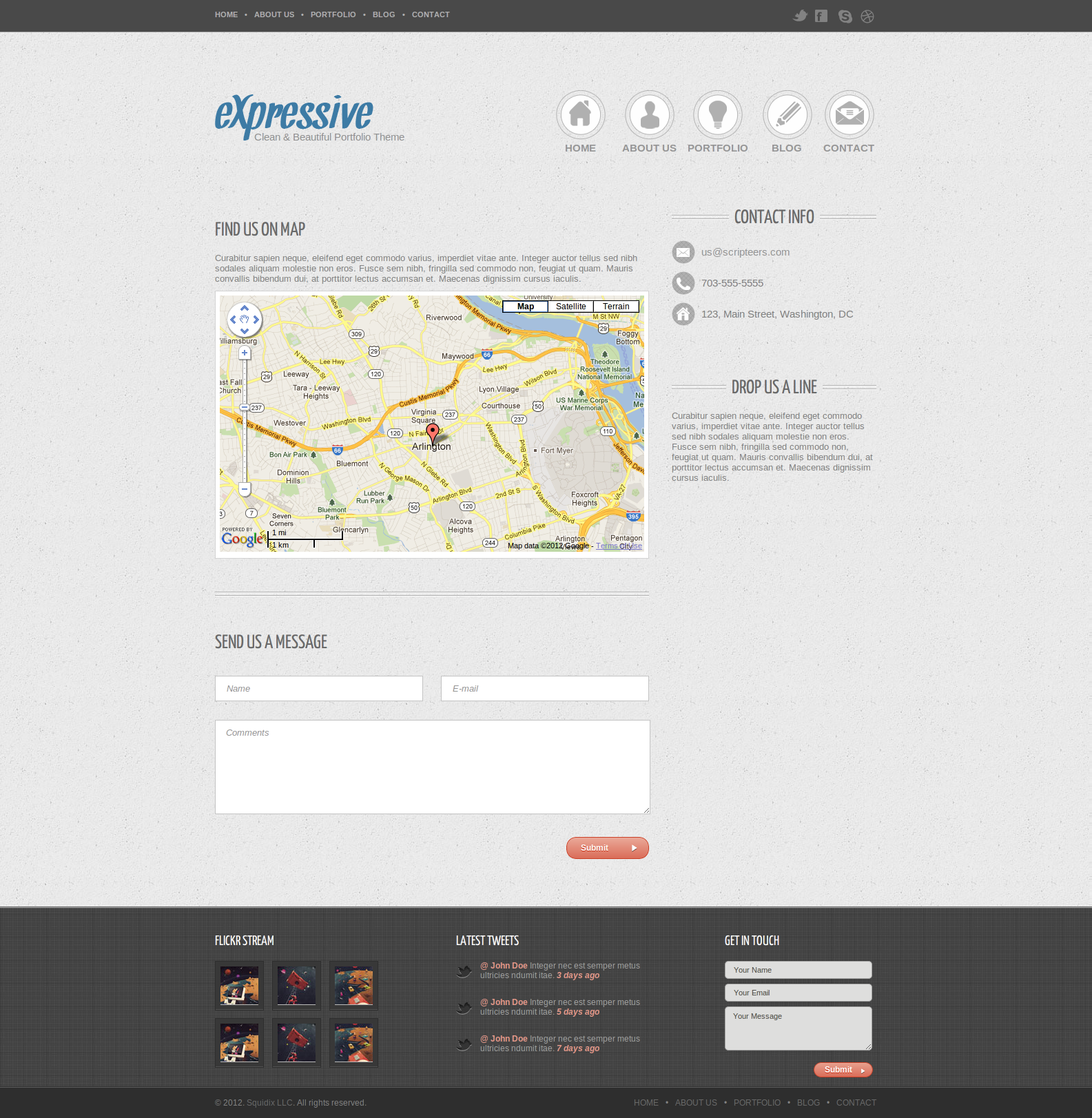 Expressive - Fully Responsive HTML5/CSS3 Portfolio