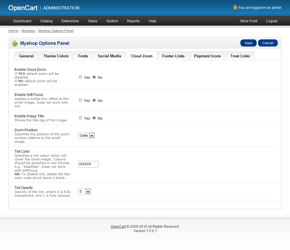 MyShop - Premium OpenCart Theme