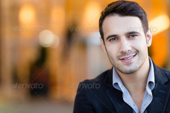 Casual business man - Stock Photo - Images
