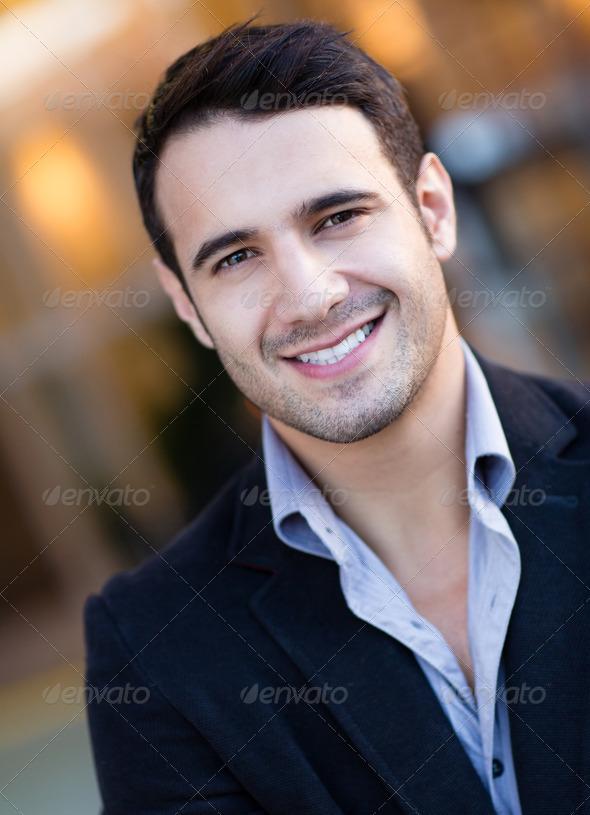 Business man portrait - Stock Photo - Images