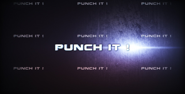 After Effects Project - VideoHive Punch it 287301