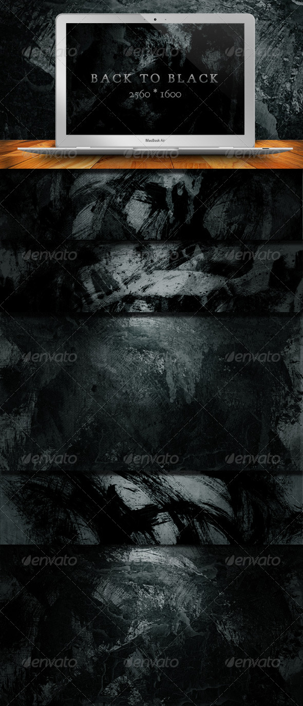 10 Back To Black Grunge Backgrounds - Backgrounds Graphics