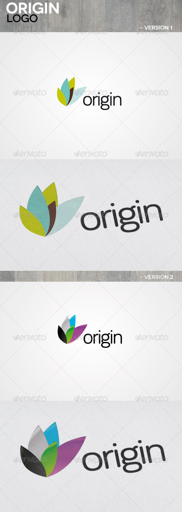 Origin Logo - Nature Logo Templates