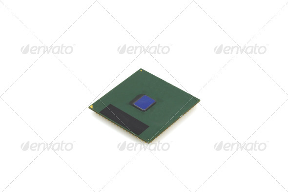 Microprocessor - Stock Photo - Images