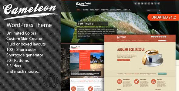 ThemeForest Cameleon Multipurpose WordPress Theme 2282781