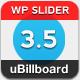uBillboard - வேர்ட்பிரஸ் ஐந்து பிரீமியம் ஸ்லைடர் - விற்பனை WorldWideScripts.net பொருள்