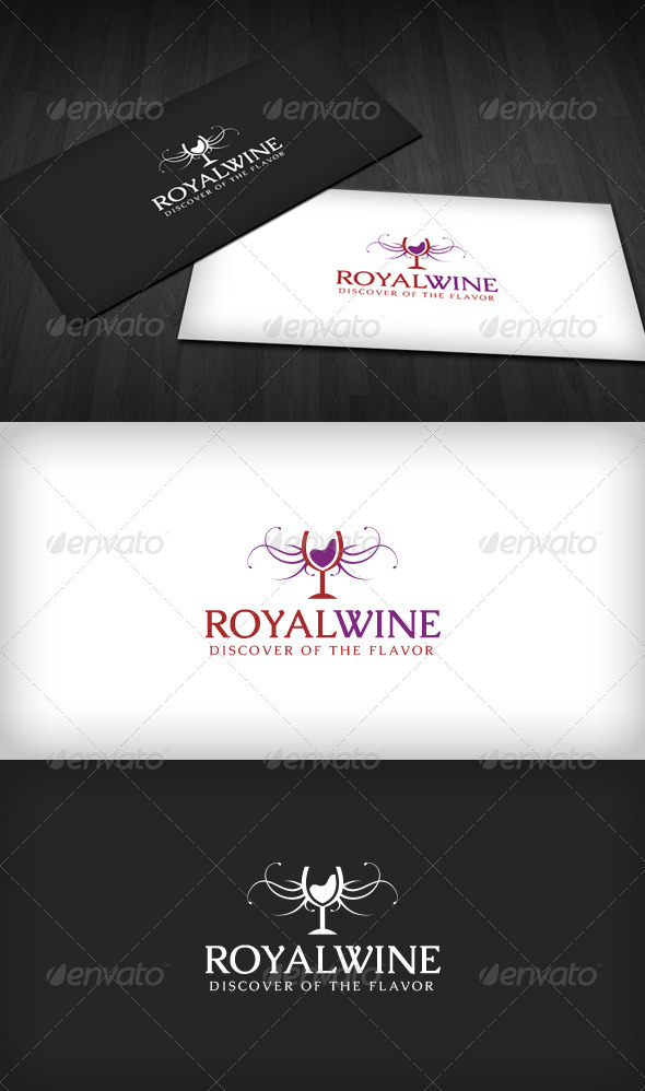 Royal Wine Logo - Crests Logo Templates