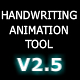 Handwriting Animation Tool V2.5 - ActiveDen Item for Sale