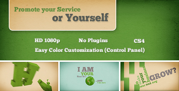 VideoHive Promote your Service or Yourself 2569825