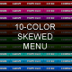 10-color skewed menu - GraphicRiver Item for Sale