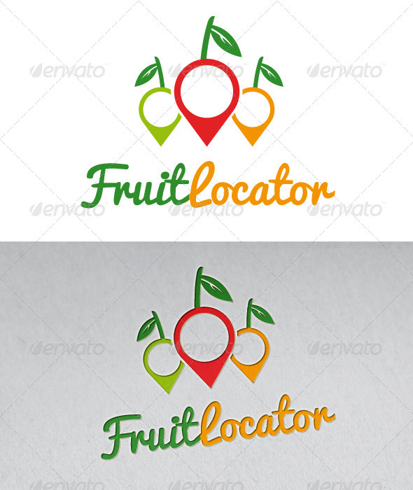 Fruit Locator Logo - Food Logo Templates