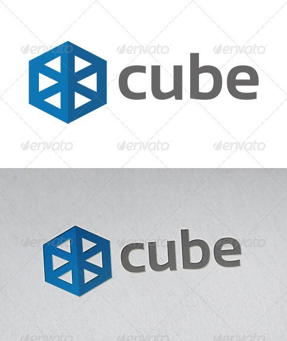 GraphicRiver Cube Logo 2570698