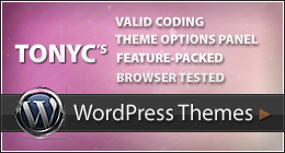 Tonyc's Wordpress themes